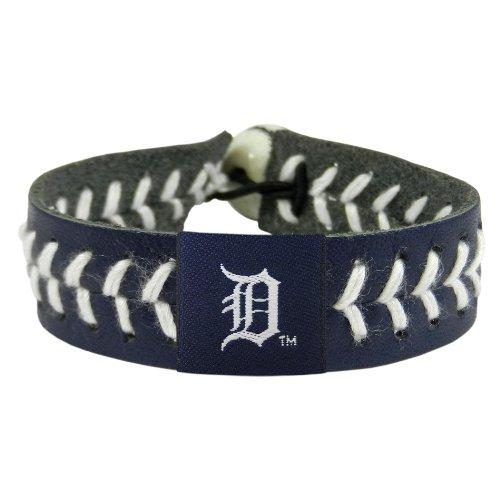 Gamewear Bracelet (MLB Detroit Tigers Team Color Baseball Bracelet)