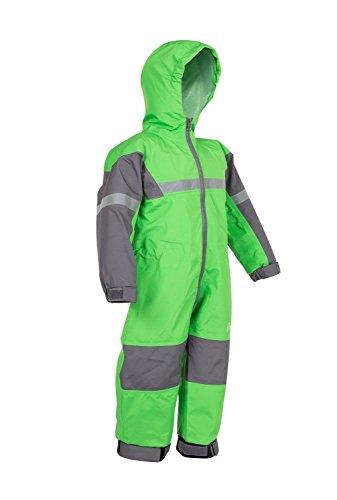 Oakiwear Kids One-Piece Waterproof Trail Rain Suit, Classic Green, 6/7 by Oakiwear