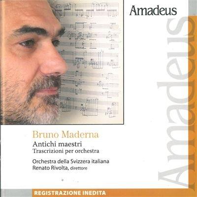 Risultati immagini per amadeus maderna trascrizioni cd
