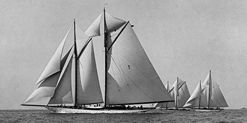 Schooner Race - Schooner Race by Edwin Levick 14