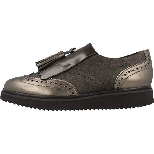 Marrón Vestir Thymar c6426 Para De C Mujer D Zapatos Geox qzp8f8