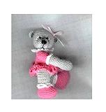 FRIDA Thread Crochet Bear Pattern by Edith Molina (English Edition)