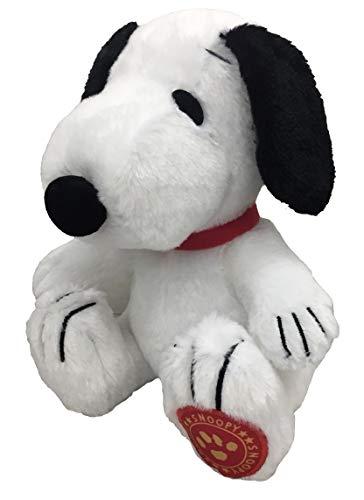 [해외]스 누 피 SNOOPY 박제 앉은 키 20cm 발바닥에 귀여운 헝겊 된 무성 한 (일반) / SNOOPY Snoopy Plush Seat Height 20cm Sole with Cute Patch Fluffy (Normal)