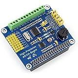 Raspberry Pi AD/DA Expansion Shield Board Onboard ADS1256 DAC8552 Sensor Supports Adding High-Precision AD/DA Functions to Raspberry Pi