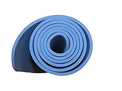 "Yoga mat 6mm XL and extra thick by Tranquil Tree includes yoga mat strap. Extra Long 72"", High-density, Durable, Eco-friendly TPE exercise yoga mat Odor-free, Latex-Free for pilates, workouts, camping and more!"