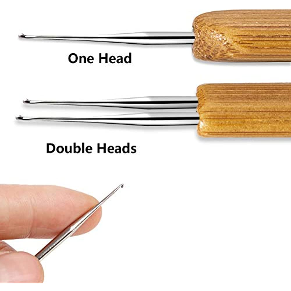 1 Set//9 Pcs Hairpins Practical Dreadlock Weaving Needle for Men DIY Supplies