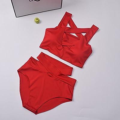 HAN-NMC Maillots Bikinis taille haute