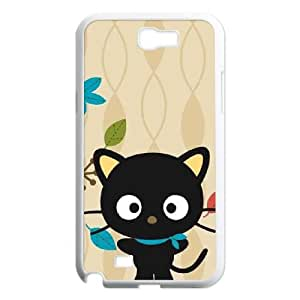 Chococat Autumn Leaves Samsung Galaxy N2 7100 Cell Phone Case White toy pxf005_5815018