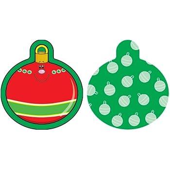 Carson Dellosa Christmas Ornaments Cut-Outs (120029)