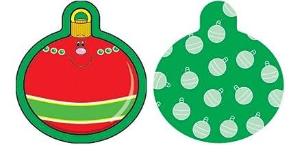 Carson Dellosa Christmas Ornaments Cut Outs 120029