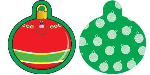Carson Dellosa Christmas Ornaments Cut-Outs (120029)
