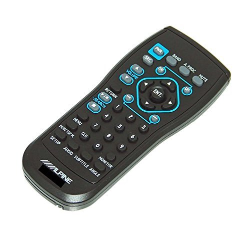 OEM Alpine Remote Control Originally Shipped With: IVAD900, IVA-D900, INAW910, INA-W910, CDA7990, CDA-7990