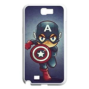 Captain America Design Top Quality DIY Hard Case Cover for Samsung Galaxy Note 2 N7100, Captain America Galaxy Note 2 N7100 Phone Case