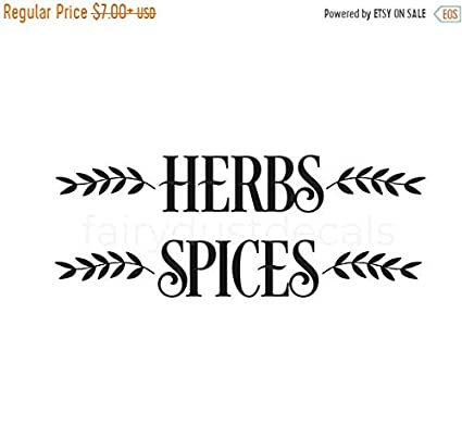 Amazon Com Pene Labor Day Sale Herba And Spices Decal Farmhouse