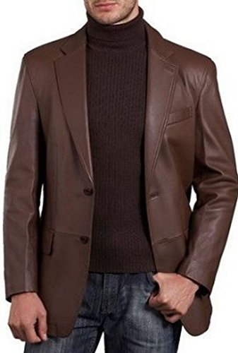 Leather Sport Coat - 7