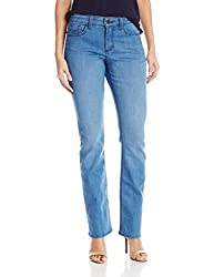 Nydj Women's Marilyn Straight Leg Jeans, Newberry, 16