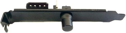 Lamptron Cp120 V2 Pci Blende Lüftersteuerung Schwarz Elektronik