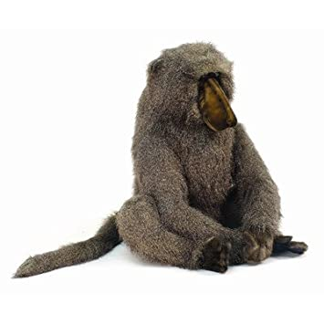 Baboon, Standing Plush Toy