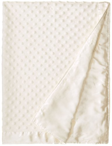 Colorado Clothing Kid's Cuddle Fleece Blanket, White, One (Plush Chenille Baby Blanket)