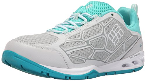 Columbia Women's Megavent Fly Water Shoe, Cool Grey/Dolphin, 8 B US