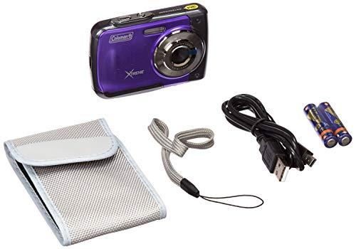 Coleman Xtreme 18.0 MP HD Underwater Digital & Video Camera (Waterproof to 10 ft.), 2.5