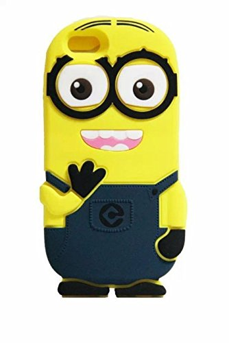 best sneakers 684c7 17238 Iphone SE Case, Iphone 5 / 5s / 5c Case, Cute 3D Minion Minions Despicable  Me Cartoon Lovely Soft Gel Rubber Silicone Protection Case for Iphone 5s /  ...
