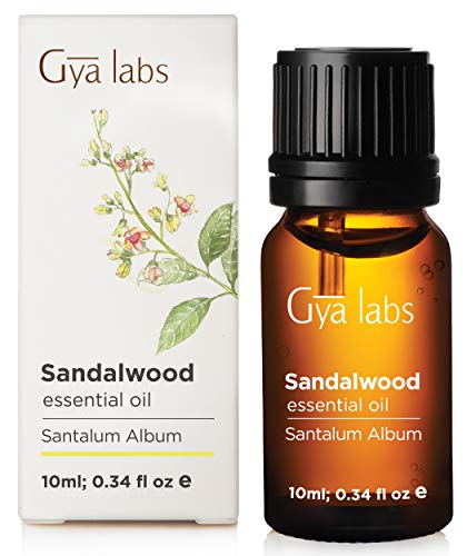 Indian Sandalwood Essential Oil for Skin and Diffuser (10ml) - 100% Pure Therapeutic Grade (Perfume Buy Patchouli Where To)