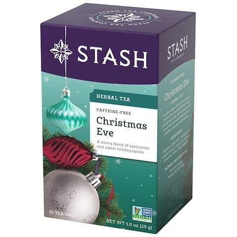 Amazon.com: Víspera de Navidad té de hierbas Stash Tea 18 ...