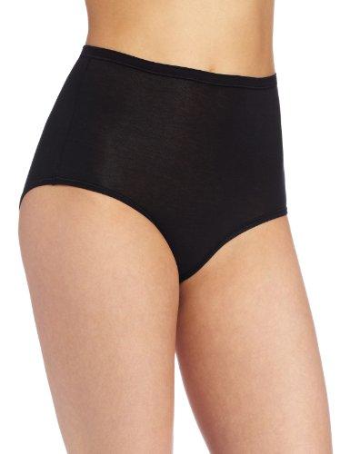 Wacoal Women's B-fitting Brief Panty, Black, One - Wacoal Cotton Panties
