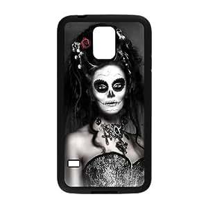 C-EUR Sugar Skull Phone Case For Samsung Galaxy S5 I9600