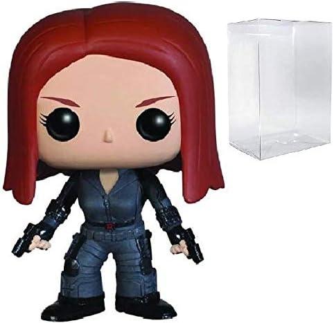 Marvel Captain America: The Winter Soldier - Black Widow Funko Pop! Vinyl Figure (Includes Compatible Pop Box Protector Case: Amazon.es: Juguetes y juegos