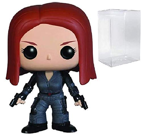 Marvel Captain America The Winter Soldier - Black Widow Funko Pop! Vinyl Figure (Includes Compatible Pop Box Protector Case