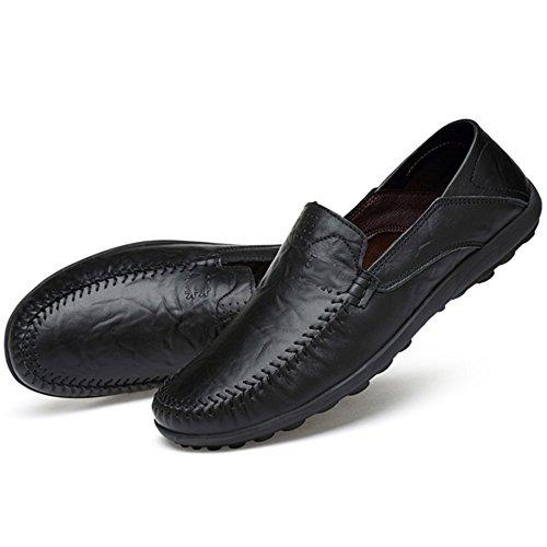 Chaussures Papa Chaussures Conduite Paresseux Décontracté Paresseux Mou MYXUA Fond Chaussures Hommes Chaussures 1 Mode U7Pqq41Ic