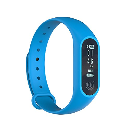 Fitness Tracker, Fawei Heart Rate Blood Pressure Monitor IP67 Waterproof Calorie Counter Pedometer Sports Activity Band for Android and IOS Smart Phones