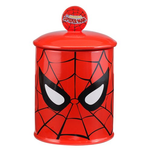 - Vandor Marvel Spider-Man Ceramic Cookie Jar (26041)