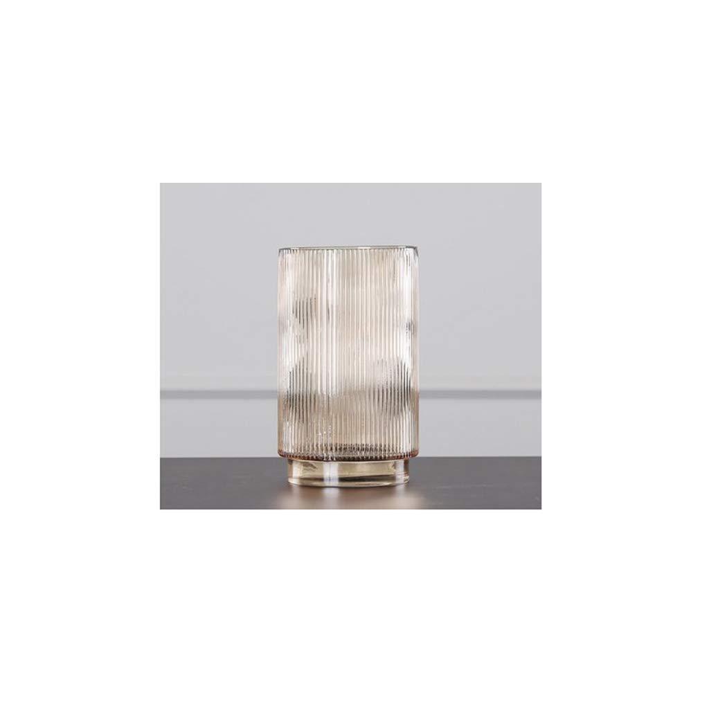 HBJP ガラス花瓶リビングルームダイニングルーム研究花瓶ホーム水耕植物花瓶 花瓶 (サイズ さいず : 25cm×14.9cm) B07S3R1BZ4  25cm×14.9cm