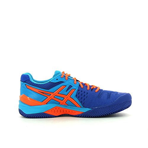 Asics Gel-Bela 5 Sg Tennisschuhe, Blue/Orange, 44m