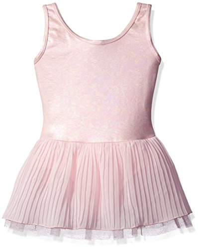 Capezio Dress - Capezio Girls' Big (7-16) Pleated Tank Dress Tutu, Ballet Pink, Medium (7-8)