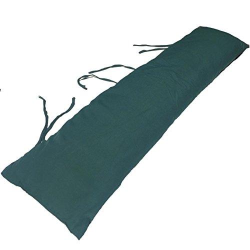 Caribbean Hammocks Double Hammock Pillow, Dark Green