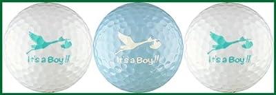 It's a Boy Variety Golf Ball Gift Set
