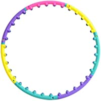 Ccoco Weighted Detachable Ring Circle Magnet Hula Hoop Workout Massage Exercise Professional Fitness