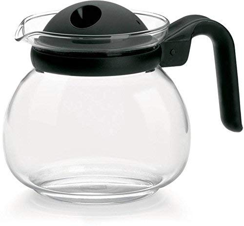 Treo Glass Kettle Jug with Filter Lid  1000 Ml