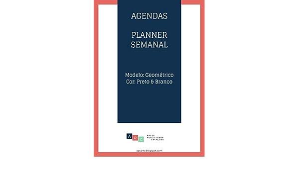 Amazon.com: Agenda | Planner Semanal (Portuguese Edition ...