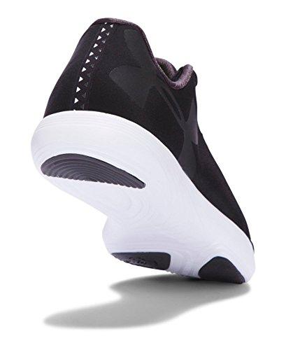 Under Armour de Fitness para mujer zapatos, OVERCAST GRAY/OVERCAST GRAY/GLACIER GRAY Fitness Gym Sport Negro, blanco, negro