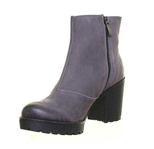 Grey pour Femme 3100 Justin A Reece Bottes wXqZI8pB