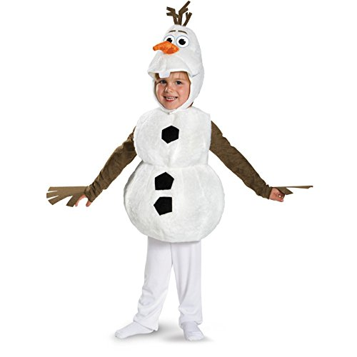 Olaf Deluxe Costume - Toddler Medium