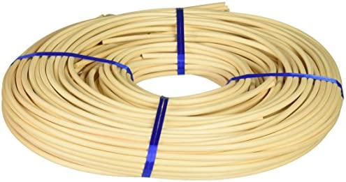 Commonwealth Basket Round Reed 7 5mm 1-Pound Coil Approximately 150-Feet