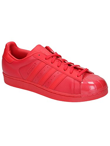 GENRE ROUGE FEMME S76724 TO GLOSSY TAILLE Basket 38 2 3 ADULTE SUPERSTAR AGE COULEUR ADIDAS 8xFqznRwvn