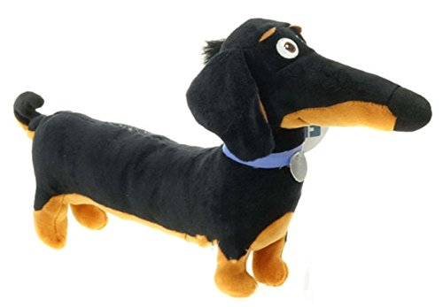 Plush toy Black Sausage Buddy dog Toy Holiday Birthday Party Gifts for Kids by KPT