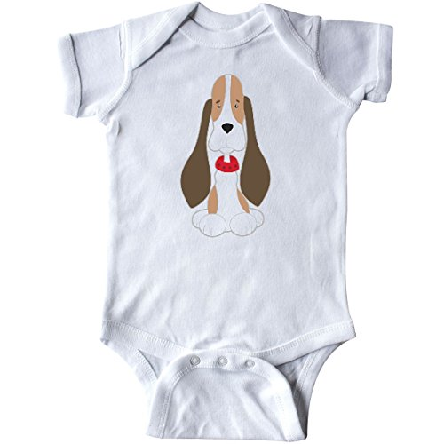 inktastic - Basset Hound with Floppy Ears Infant Creeper, used for sale  Delivered anywhere in USA